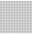 Seamless Mosaic Tiles Texture with White Filling vector image