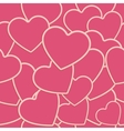 Tile Heart Background One vector image