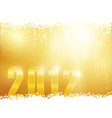 happy new year 2012 background vector image vector image