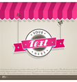 Vintage shop front vector image vector image