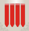 stick color red vector image
