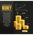 Money poster or banner design template vector image