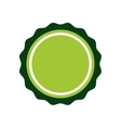 Green Seal stamp icon Label design vector image