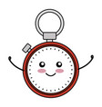 Chronometer device comic character vector image