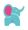elephant cute isolated icon vector image