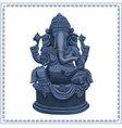 Ganesh Statue vector image