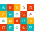 Baby and new born icons Flat style vector image