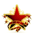 Movie stars vector image