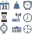 time signs vector image