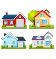 Private Houses Set vector image