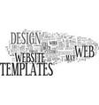 web designers beware text word cloud concept vector image