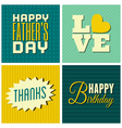 mixed cards set vector image