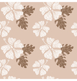 hibiscus pattern nude vector image