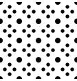 Big and small unusual polka dot seamless pattern vector image