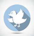 Small Cute Bird vector image
