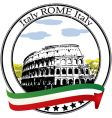 rome stamp vector image
