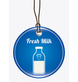 milk design vector image
