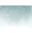 Falling Snow vector image