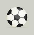 soccer ball soccer ball icon soccer ball flat vector image