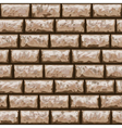 Dirty brick wall seamless pattern vector image
