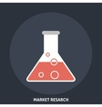 Market Research vector image
