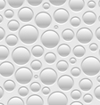 Pattern bubbles vector image vector image