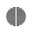 Speaker dynamic black grille template vector image