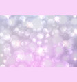light purple bokeh background vector image
