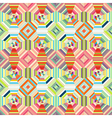 Geometric abstract many colored striped seamless vector image vector image