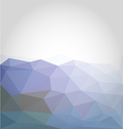 Abstract colorful low poly background vector image
