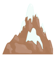 mountain range vector image
