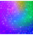Colorful Bright Geometric Background for your desi vector image vector image