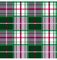 checkered tartan pattern vector image vector image