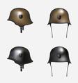 German helmet vector image vector image