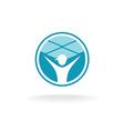 Ceiling tiles mount logo vector image
