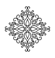 Isolated Abstract Floral pattern vector image
