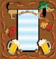 oktoberfest dachshund vector image