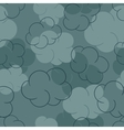 Seamless pattern with clouds - vector image