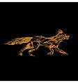 Fire fox vector image