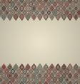 vintage seamless border pattern vector image