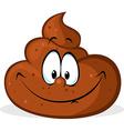 funny poo cartoon - vector image
