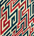 retro lines seamless pattern with grunge effect vector image