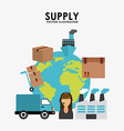 supply design vector image