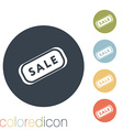 plate sale vector image