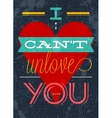 Valentines Postcard for expression your feeling vector image