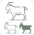 goat 2 vector image