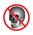 No smoking Sign Icon vector image