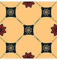 Seamless Art Nouveau tile vector image