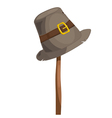beggar hat vector image vector image