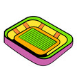 football stadium icon icon cartoon vector image